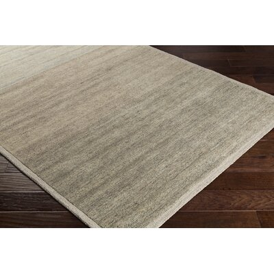 Ciccone Hand-Tufted Wool Ivory/Taupe Area Rug Rug Size: Rectangle 8 x 10