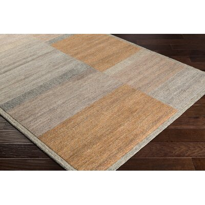Ciccone Hand-Tufted Wool Ivory/Taupe Area Rug Rug Size: Rectangle 2 x 3