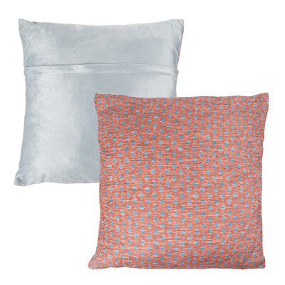 Mulford Diamond Throw Pillow Color: Orange