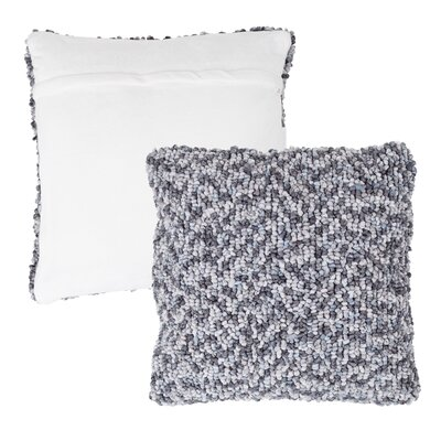 Mulkey Loop Throw Pillow Color: Gray