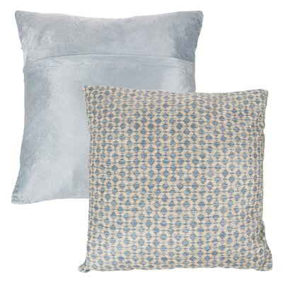 Mulford Diamond Throw Pillow Color: Yellow