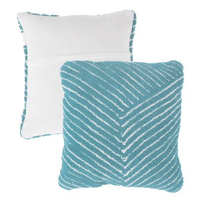 Mullan Stripe Throw Pillow Color: Blue