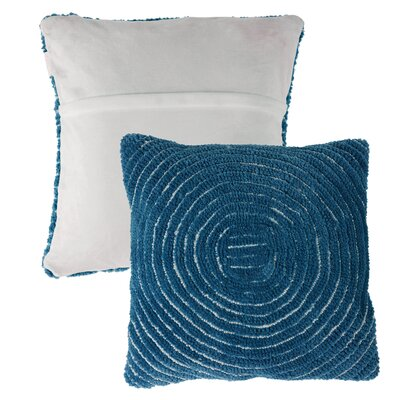 Mulhall Circle Throw Pillow Color: Navy