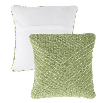 Mullan Stripe Throw Pillow Color: Green