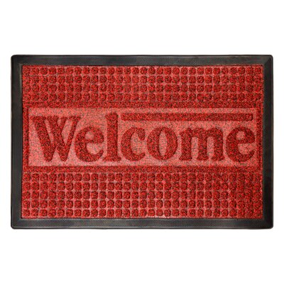 Melgoza Welcome Doormat Mat Size: Rectangle 17.5 x 29