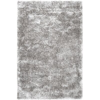 Elizabethville Shag Hand-Woven Gray Area Rug Rug Size: Rectangle 5 x 8