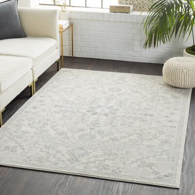 Andover Navy/Orange Area Rug Rug Size: Rectangle 53 x 73