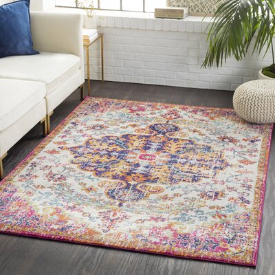 Andover Vintage Gray/Light Gray Area Rug Rug Size: Rectangle 7'10