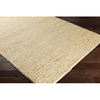 Blythen Hand-Woven Butter Area Rug Rug Size: Rectangle 5 x 76