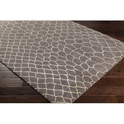 Nakashima Hand-Tufted Camel/Khaki Area Rug Rug Size: Rectangle 8 x 11