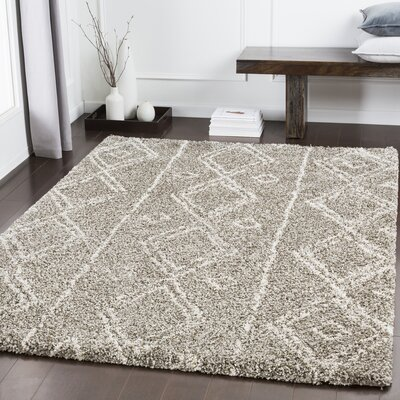 Eadie Bohemian Taupe Area Rug Rug Size: Rectangle 2 x 3