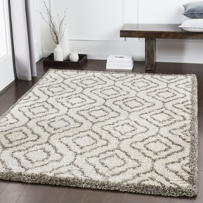 Lawing Brown/Taupe Area Rug Rug Size: Rectangle 53 x 73