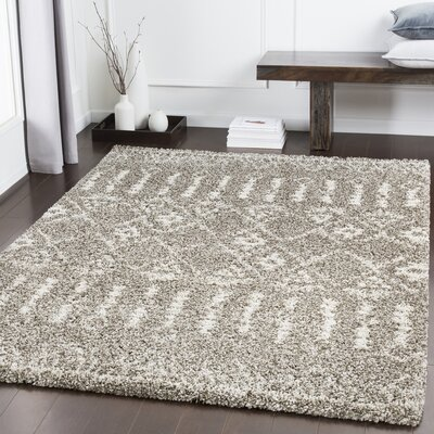 Dussault Bohemian Brown/Taupe Area Rug Rug Size: Rectangle 710 x 103