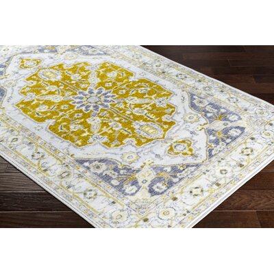 Wyclif Floral Olive/Lime Area Rug Rug Size: Rectangle 2 x 3
