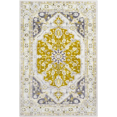 Wyclif Olive/Lime Area Rug Rug Size: Rectangle 710 x 103