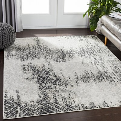Dille Distressed Camel/Taupe Area Rug Rug Size: Rectangle 53 x 73