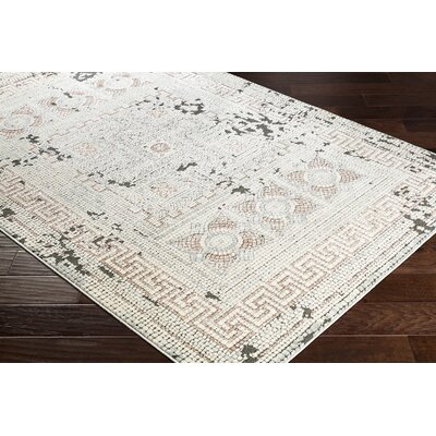 Nakasi Distressed Camel/Beige Area Rug Rug Size: Rectangle 311 x 57