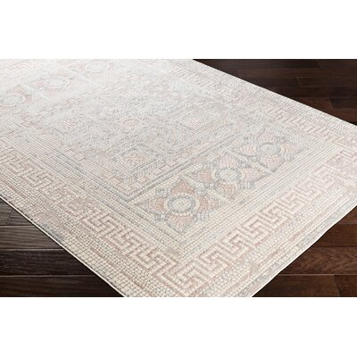 Nakasi Distressed Camel/Beige Area Rug Rug Size: Rectangle 53 x 73