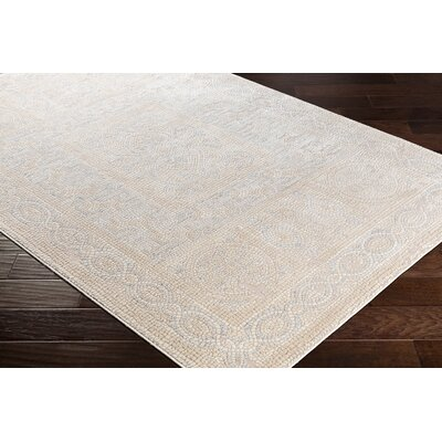 Nakasi Distressed Camel/Beige Area Rug Rug Size: Rectangle 67 x 96