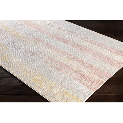 Eakes Camel/Gray Area Rug Rug Size: Rectangle 53 x 73