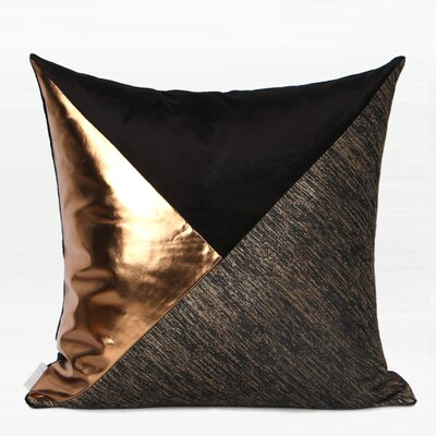 Tonya Three Color Area Pillow Fill Material: No Fill, Product Type: Pillow Cover