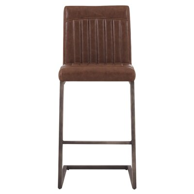 Gilkey 26 Bar Stool Upholstery: Antique Cigar Brown