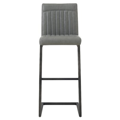 Gilkey 31.5 Bar Stool Upholstery: Antique Graphite Gray