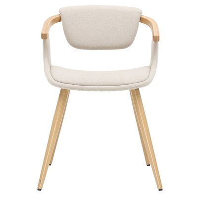 Castiglia Upholstered Dining Chair Upholstery: Stokes Linen/Natural