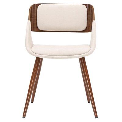 Castille Upholstered Dining Chair Upholstery: Santorini Sand/Walnut