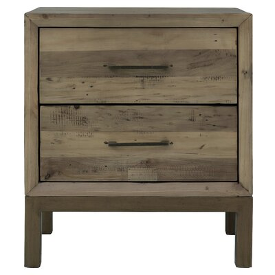 Macaluso 2 Drawer Nightstand