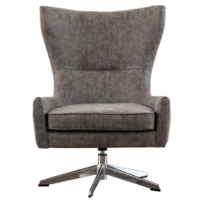 Caster Swivel Accent Chair