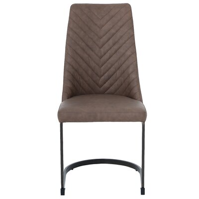 Rathjen Upholstered Dining Chair Upholstery: Element Brown