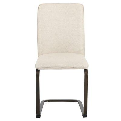 Hadden Upholstered Dining Chair Upholstery: Granola Beige