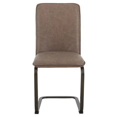 Hadden Upholstered Dining Chair Upholstery: Element Brown