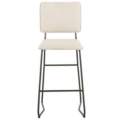 Haddix 29.5 Bar Stool Upholstery: Granola