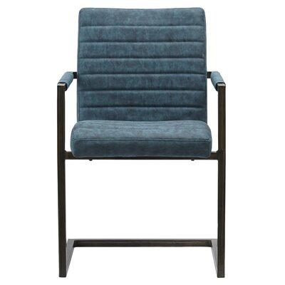 Gilleland Upholstered Dining Chair Upholstery: Kalahari Blue