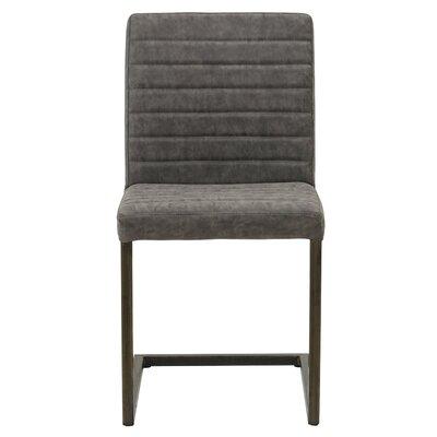 Gilleland Upholstered Dining Chair Upholstery: Kalahari Gray