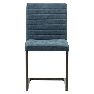 Gilleland Upholstered Dining Chair Upholstery: Kalahari Blue