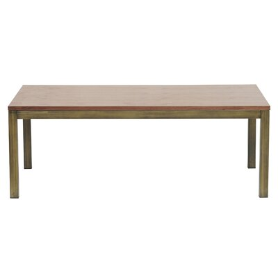 Dimaggio Coffee Table Finish: Brushed Brass