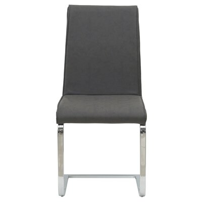 Ruddy Upholstered Dining Chair Upholstery: Highland Gray