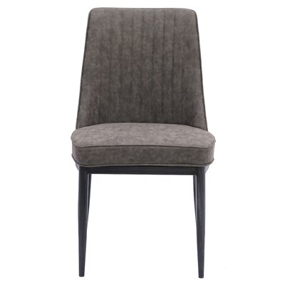 Gilley Upholstered Dining Chair Upholstery: Kalahari Gray