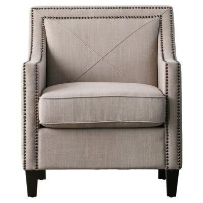 Ducote Armchair Upholstery: Khaki