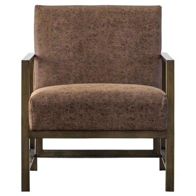 Haakenson Armchair Upholstery: Nubuck Chocolate