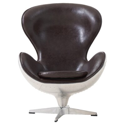 Dever Swivel Barrel Chair