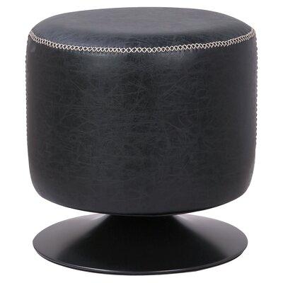 Gillan Ottoman Upholstery: Vintage Black