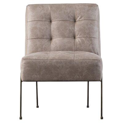 Gillard Slipper Chair Upholstery: Devore Gray
