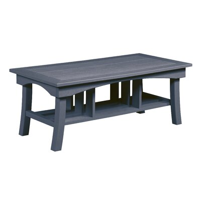 Clabaugh Coffee Table Frame Color: Slate Gray