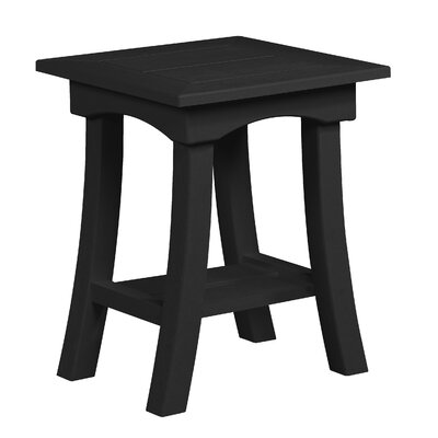 Clabaugh End Table Frame Color: Black