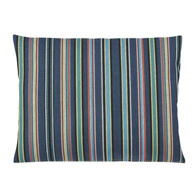 Clardy Lumbar Pillow Color: Green/Blue, Size: 11 x 13