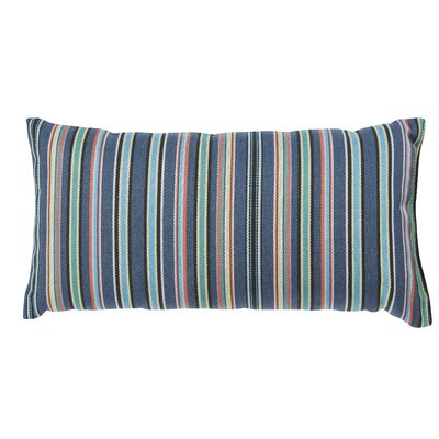 Clardy Lumbar Pillow Color: Green/Blue, Size: 6 x 16
